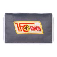 1. FC Union Berlin Plüsch Kissen Logo Grau