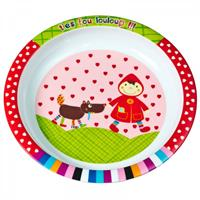 Ebulobo plate Little Red Riding Hood