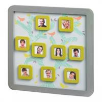BabyArt Family Tree Frame Grey