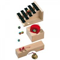 Haba Ball Track Extension Pack Sound Stairs
