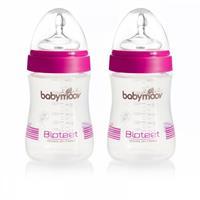 Babymoov Bioteet-Fläschchen 230ml 2er Set