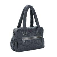 Lässig Wickeltasche Glam Bowler Bag Pacific Flower Black