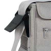 Lässig Wickeltasche Casual Messenger Bag Cork Star Light Grey Detail 06