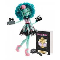 Monster High Sort. BLX02 Grusel Deluxe Puppe Honey Swamp