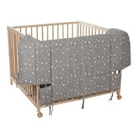 Fillikid Playpen Insert Grey with Stars
