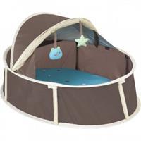 Babymoov Little Babyni Reisebett / Spielpark Farbe türkis / braun
