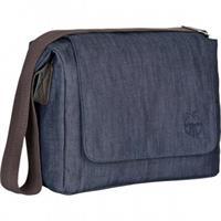 Lässig Green Label Small Messenger Bag Wickeltasche Update Denim Blue