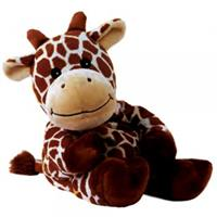 Greenlife Value Warmies Beddy Bears heatable stuffed toy with lavender-filling Giraffe Giraffana