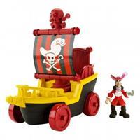 Fisher-Price Jake & die Nimmerland Piraten - Hooks großer Segelwagen