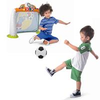 Chicco Fit & Fun Goal Fussballtor mit Fussball Detailansicht 01