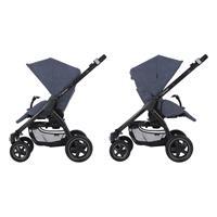 Maxi-Cosi Stella Kinderwagen Nomad Blue Sitzrichtungen