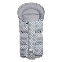 12414 1478 Odenwaelder Fusssack Donny Vario Fashion Ornamento Cool Grey