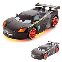 Disney Cars CBG11 Neon Racers Light-Up, Lewis Hamilton