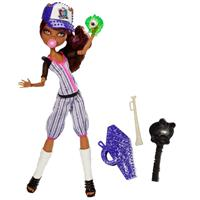 Mattel Monster High Ghoul Sports Doll - Clawdeen Wolf BJR12