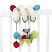 Sterntaler Spielzeugspirale Wolf Wilbur für Babysc