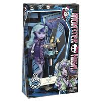 Monster High X4625 New Scaremester Puppe Twyla Detailansicht 01