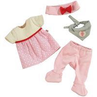 Haba Babypuppen-Kleiderset Häschen