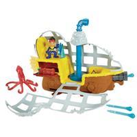 Jake & die Nimmerland Piraten U Boot Bucky Ansichtsdetail 03