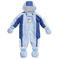 Playshoes Baby-Schneeanzug Eisbär Gr. 74 bleu