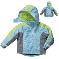 Playshoes Snow Jacket size 104 green/turquoise