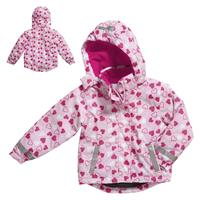 Playshoes Snow Jacket Winter Jacket Gr. 98 Herzchen allover