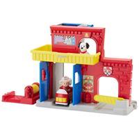 Fisher Price Little People Feuerwehr Station BGC67