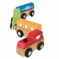 Hape Magnetic Wodden Train