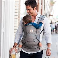 Ergobaby Travel extraleichte Babytrage für die Reise