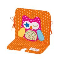 Odenwälder Seat Pad for High Chair and Swing Owl 1994 aqua
