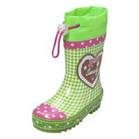 Playshoes Wellies Landhaus Size 20/21 green