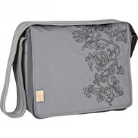 Lässig Diaper Bag Casual Messenger Bag Flornament Ash