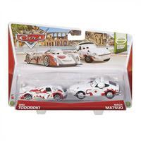 Mattel Disney Cars - Die-Cast 2er Pack Shu Todoroki und Mach Matsuo
