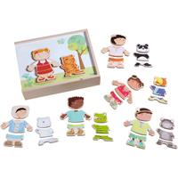 Haba Wooden Puzzle Kids of the World