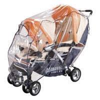 Sunny Baby Rain Cover for Twin jogger universal - with flap