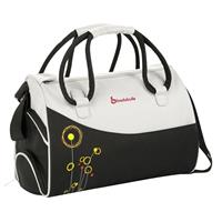 Badabulle Diaper Bag Black/White