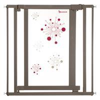 Badabulle Galaxy Tür- & Treppenschutzgitter Taupe/Rot