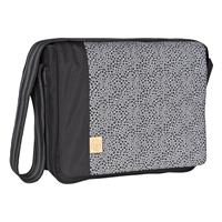 Lässig Wickeltasche Casual Messenger Bag Blossy Black