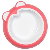 Badabulle Non-Slip Plate with tilted bottom BPA free