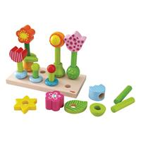 Haba Pegging Game Flower Garden