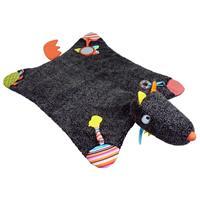 Ebulobo Spielteppich Krabbeldecke Wolf Louloup mit Spielzeug