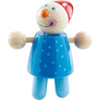 Haba rattle figure Toni blue