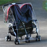 Diono Double Rain Cover for Twin-Buggy