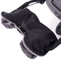 TFK Handwärmer universal mit Sympatex-Flausch schwarz/grau