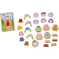Haba Wood Doll Lillis Favourite Dresses