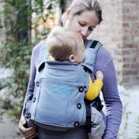 Moby Baby Carrier Aria Grey