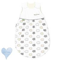 Odenwälder BabyNest klima-soft summer sleeping bag cold - 110 cm 1535 silver cloud