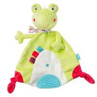 BabyFehn Schmusetuch Frosch