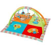 BabyFehn 3-D-Activity-Decke Teddy