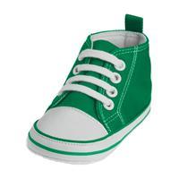 Playshoes Canvas Turnschuh Größe 17-20 Farbwahl Grün 19