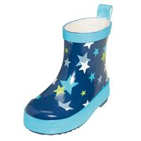 Playshoes Wellies Rubber boots Stars Size 20 to 25 - Blue or Pink